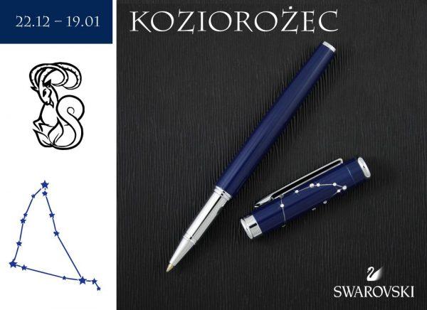 Pióro kulkowe Koziorożec | kolekcja Znaki Zodiaku