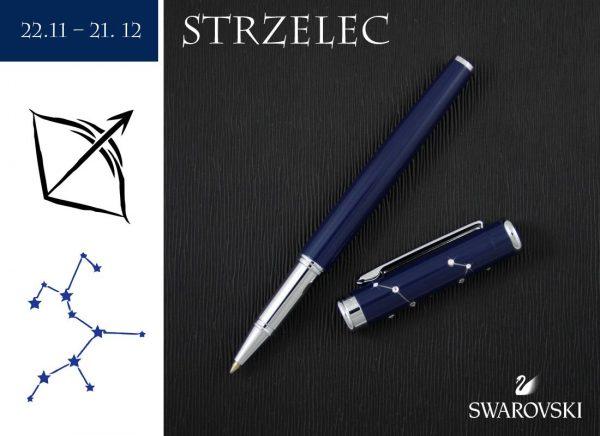 Pióro kulkowe Strzelec   kolekcja Znaki Zodiaku
