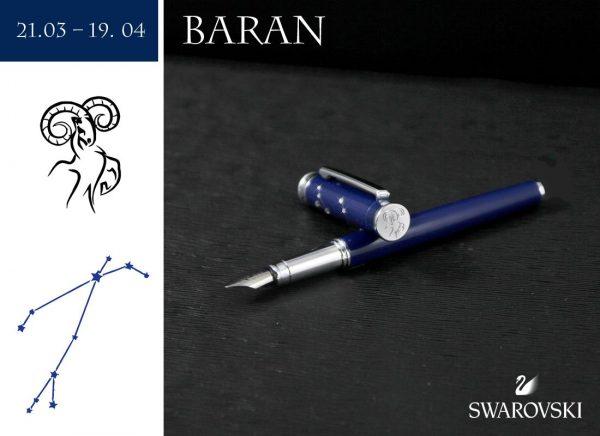 Pióro wieczne Baran | Znaki Zodiaku