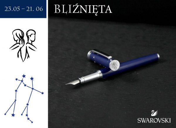 Pióro wieczne Bliźnięta | kolekcja Znaki Zodiaku