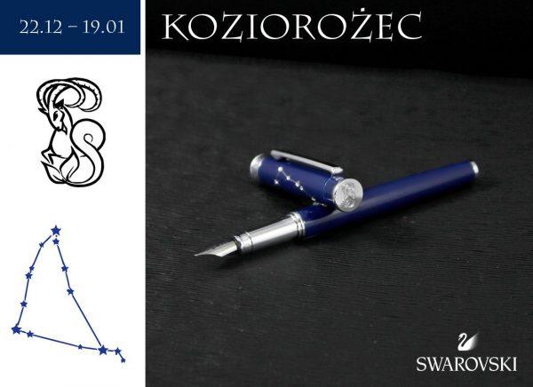 Pióro wieczne Koziorożec | kolekcja Znaki Zodiaku
