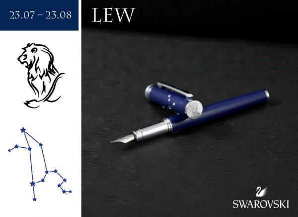 Pióro wieczne Lew | kolekcja Znaki Zodiaku