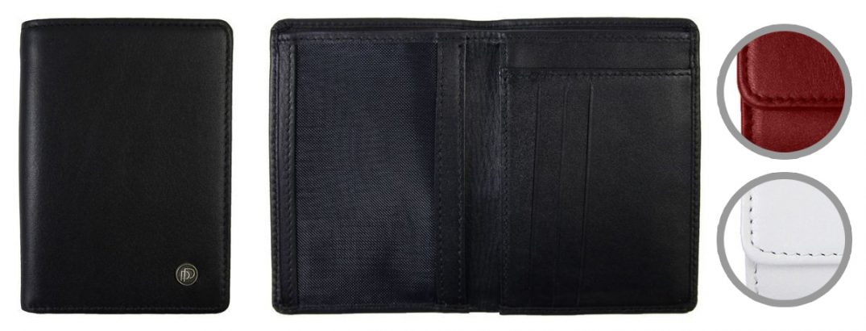 Skórzane etui na dokumenty i karty kredytowe