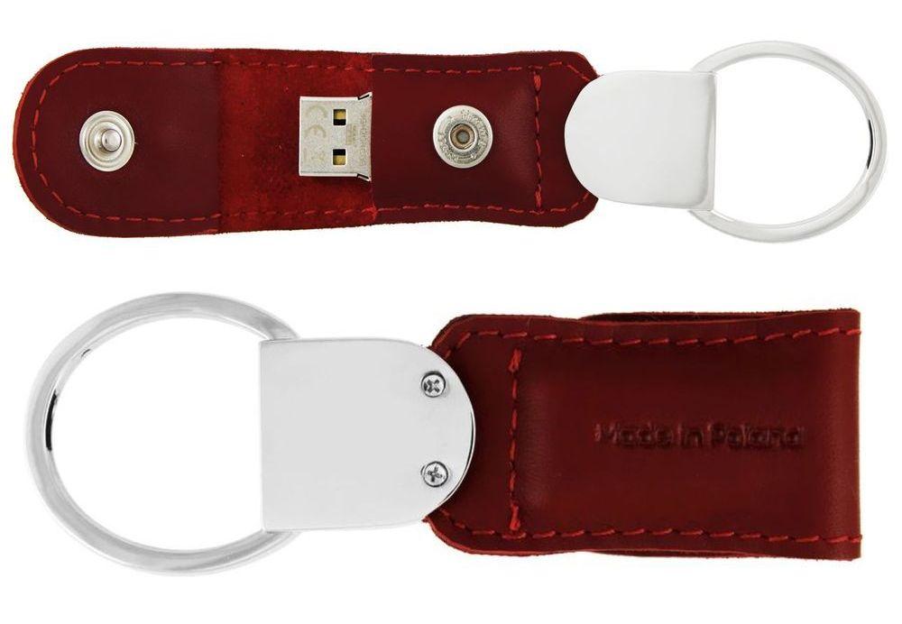 Brelok skórzany pamięć USB 8GB