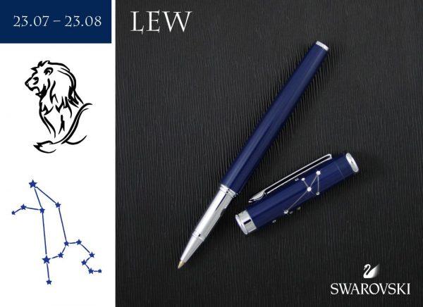 Pióro kulkowe Lew | kolekcja Znaki Zodiaku
