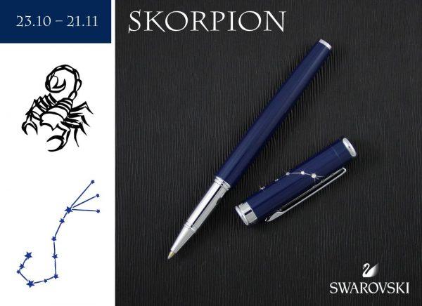 Pióro kulkowe Skorpion | kolekcja Znaki Zodiaku