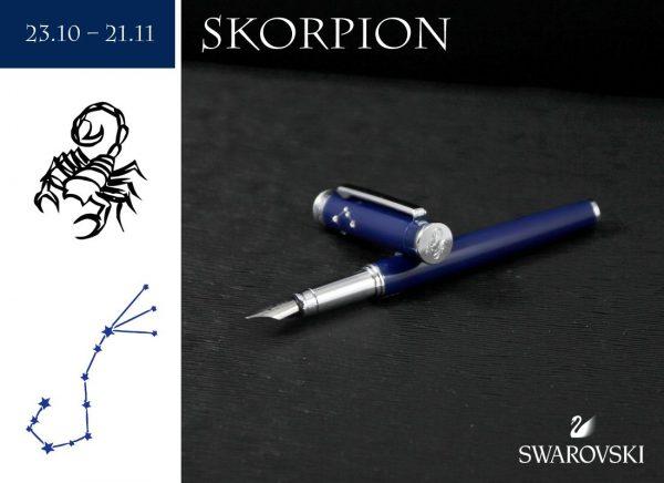 Pióro wieczne Skorpion | kolekcja Znaki Zodiaku