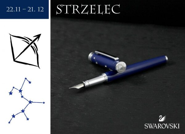 Pióro wieczne Strzelec   kolekcja Znaki Zodiaku