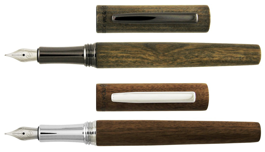 Kolekcja Eko   Pióra wieczne wykonane z naturalnego drewna